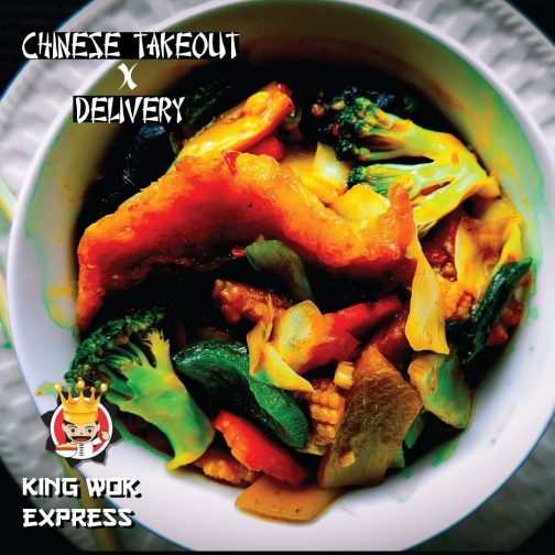 King Wok mixed Vegetable in oyster sauce